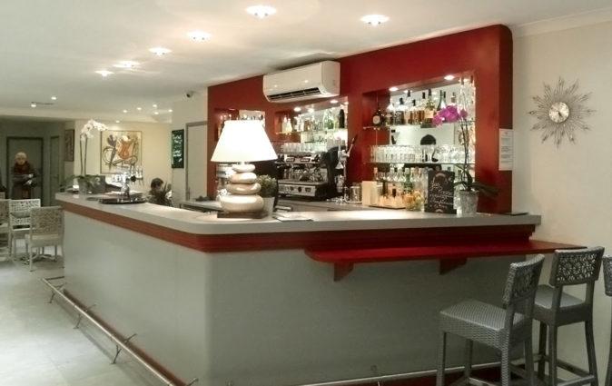 Comptoir de restaurant