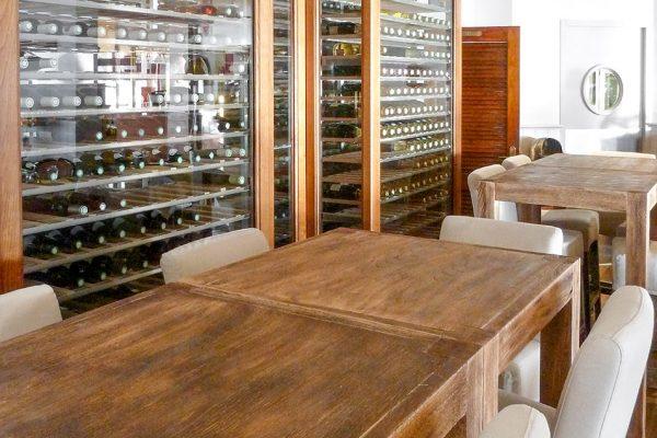 restaurant - cave à vin